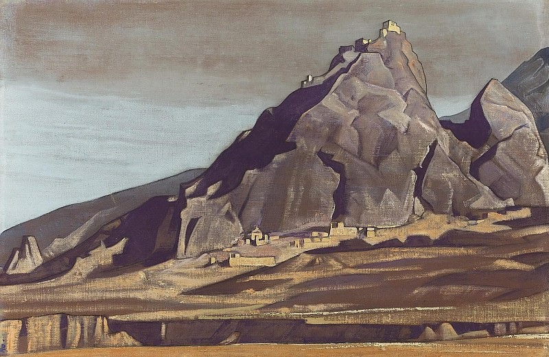 Temple (Convent). Roerich N.K. (Part 3)