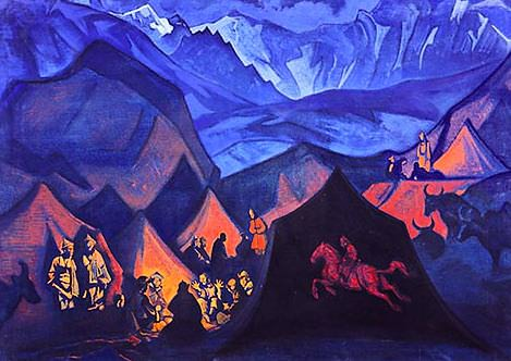 Whispers of Desert (Story about New Era). Roerich N.K. (Part 3)