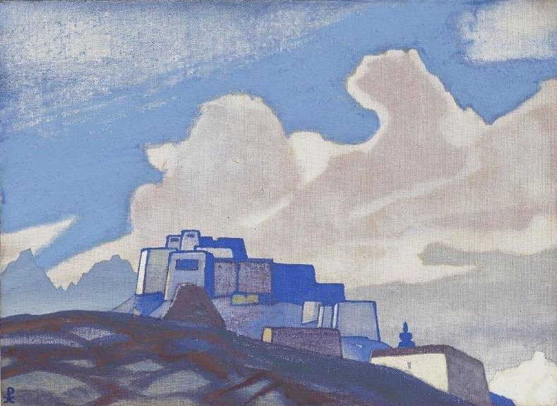 Convent mountain. Roerich N.K. (Part 3)