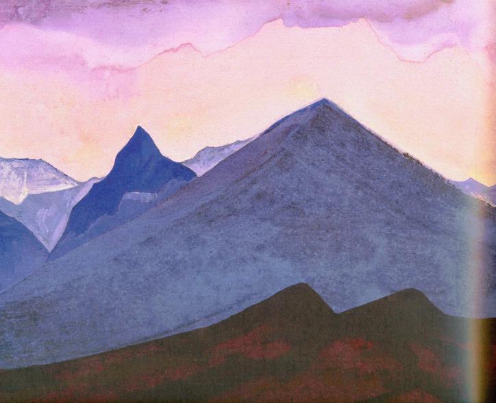 Гималаи. Рерих Н.К. (Часть 3)