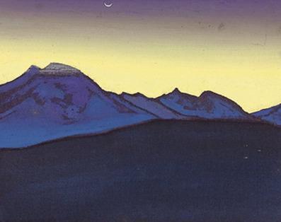 Black Gobi # 62 (Sketch). Roerich N.K. (Part 3)