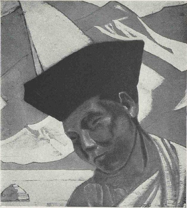 Mongolian Lama. Roerich N.K. (Part 3)