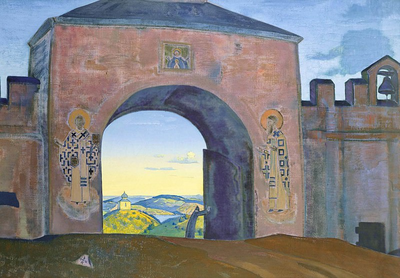 # 3 and opens (and we open the gate). Roerich N.K. (Part 3)