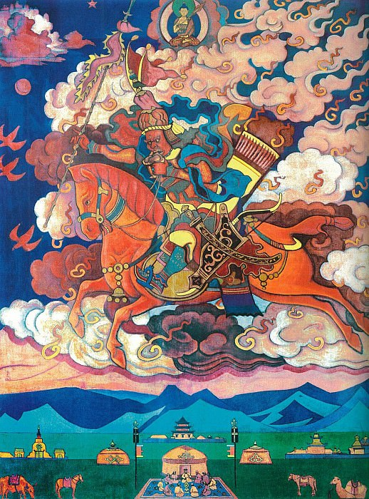 Rigden jyepo - Lord of Shambala (Great Rider, Coming). Roerich N.K. (Part 3)