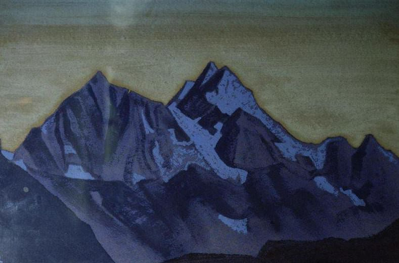 Evening. Himalaya (Path to KAILAS). Roerich N.K. (Part 3)