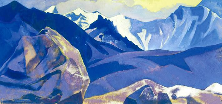 Pass Sasser. Roerich N.K. (Part 3)