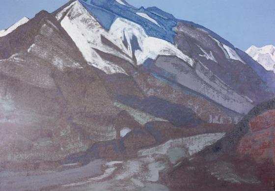 """Guga Chohan # 29 (Sketch the painting """"Guga Chohan""""). Roerich N.K. (Part 3)"""