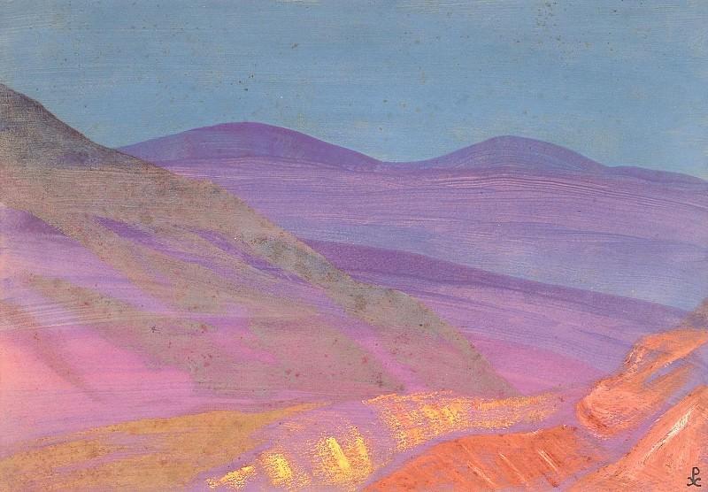 Landscape sheet. Roerich N.K. (Part 3)