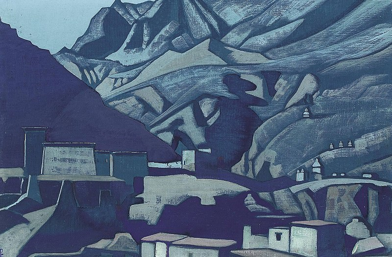 Lech (shrines and the rock) # 45. Roerich N.K. (Part 3)