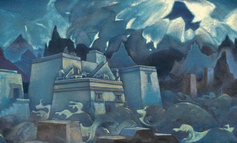 View the latest Atlanta (Destruction of Atlantis) # 18. Roerich N.K. (Part 3)