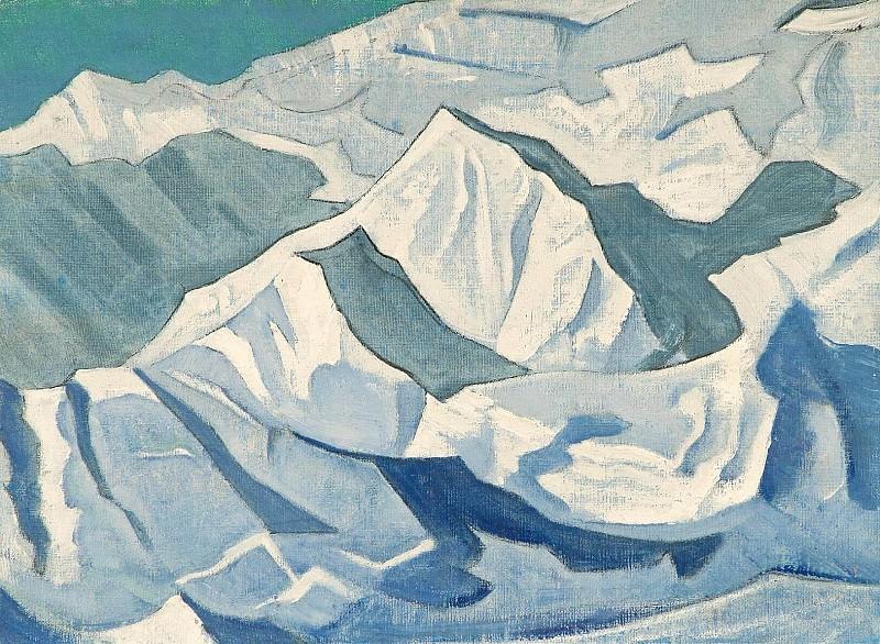 Snow lift # 76. Roerich N.K. (Part 3)