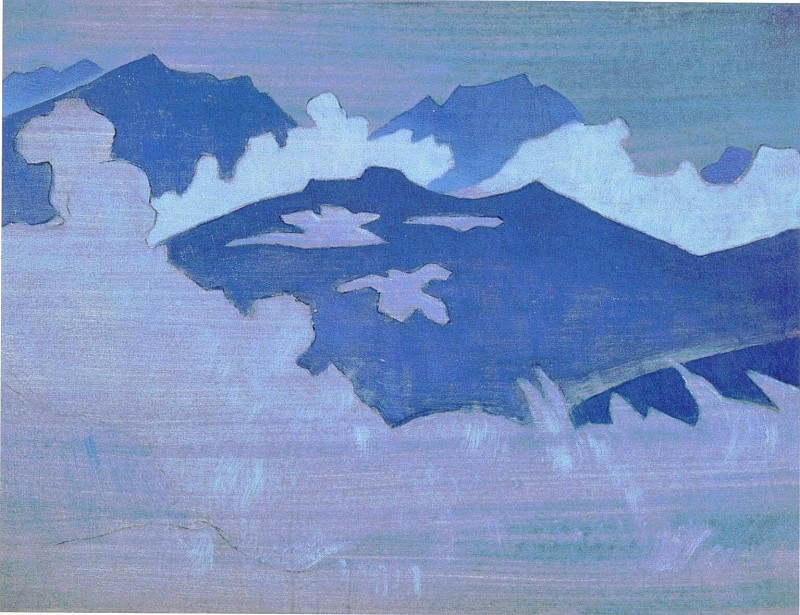Monsoon fogs] # 77 (Monsoon (fogs). Roerich N.K. (Part 3)