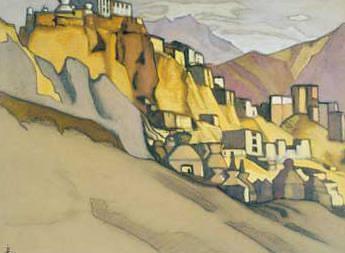 Monastery Lamayuru. Roerich N.K. (Part 3)