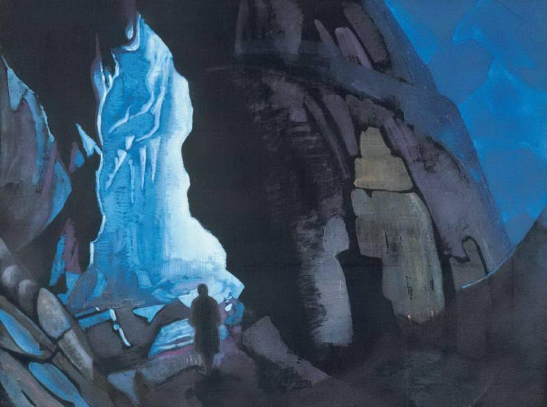 Nedra # 7 (lower than the depth). Roerich N.K. (Part 3)