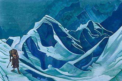 Flame Flounder. Roerich N.K. (Part 3)
