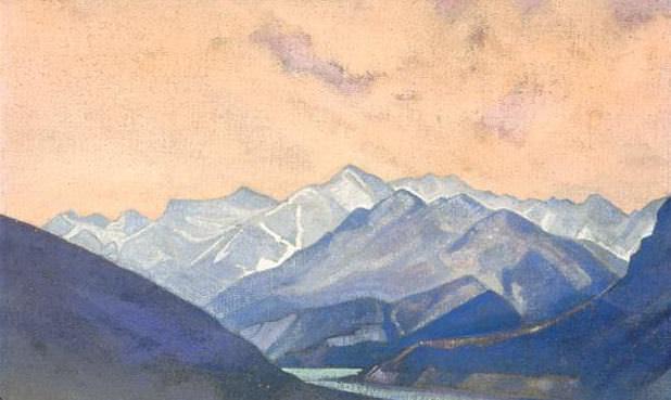 Chandra River # 8. Roerich N.K. (Part 3)