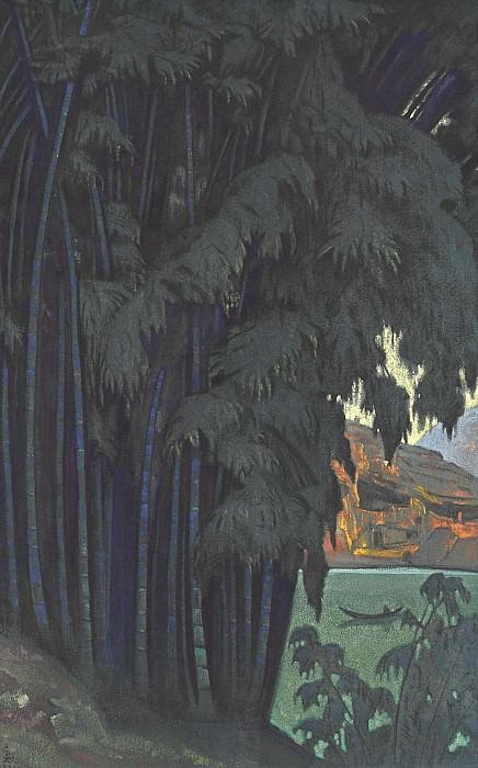 Ashram. Roerich N.K. (Part 3)
