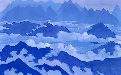 Himalayas Steps # 22. Roerich N.K. (Part 3)