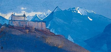 Ciss # 31 (Convent in Ciss. Lahul). Roerich N.K. (Part 3)
