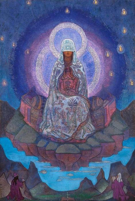 Mother World # 25 (sketch). Roerich N.K. (Part 3)