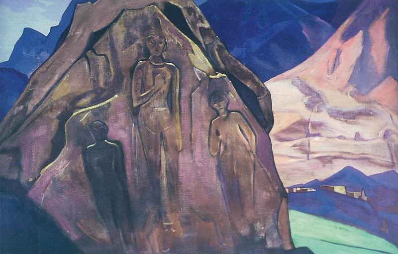 Giants Lahul # 68 (64) (Maitreya). Roerich N.K. (Part 3)