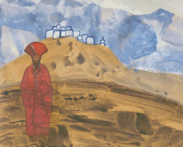 Red Lama. Roerich N.K. (Part 3)