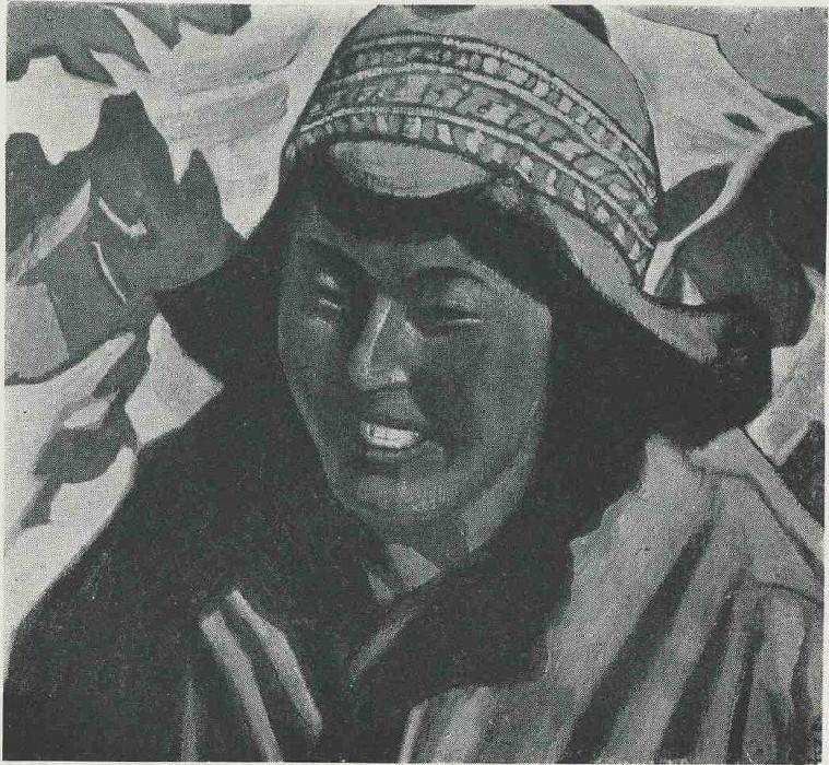 Tibetan women. Roerich N.K. (Part 3)