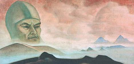 Term phenomenon (Project naddvernoy frescoes). Roerich N.K. (Part 3)