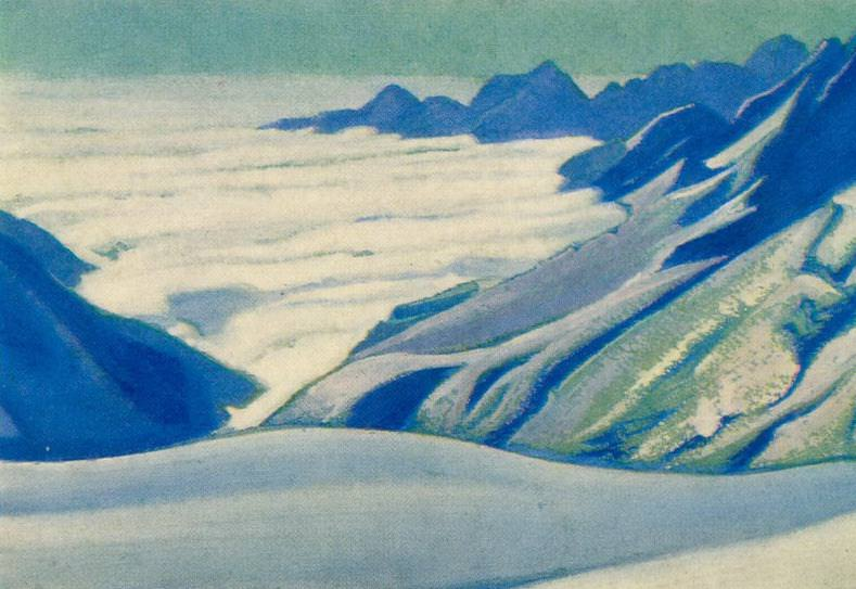 Snow Mountain. Roerich N.K. (Part 3)