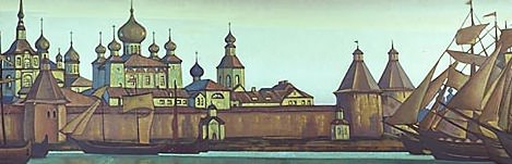 Solovetskiy convent # 4. Roerich N.K. (Part 3)