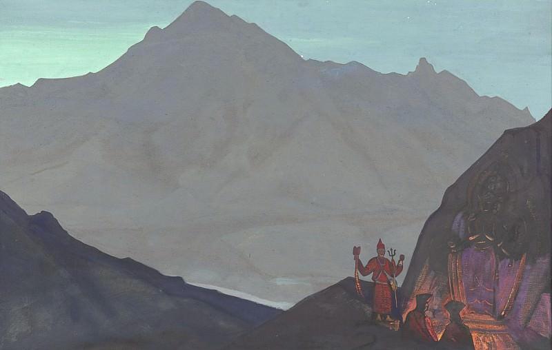 Chenrezi # 62 (58) (Chenrazi). Roerich N.K. (Part 3)