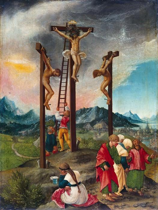 Альтдорфер, Альбрехт (ок1480-1538) - Христос на кресте. Часть 1