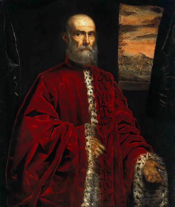 Domenico Tintoretto (1560-1635) - Portrait Procurators of S. Marco. Part 1