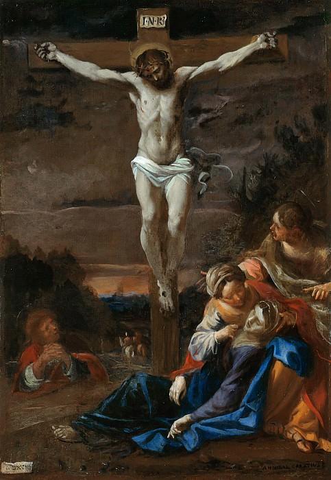 Карраччи, Аннибале (1560-1609) - Христос на кресте. Часть 1