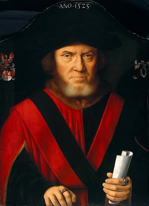 Bartholomeus I Bruyn (1493-1555) - John Reidt, mayor of Cologne. Part 1