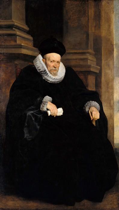 Дейк, Антонис ван (1599-1641) - Портрет генуэзского аристократа. Часть 1