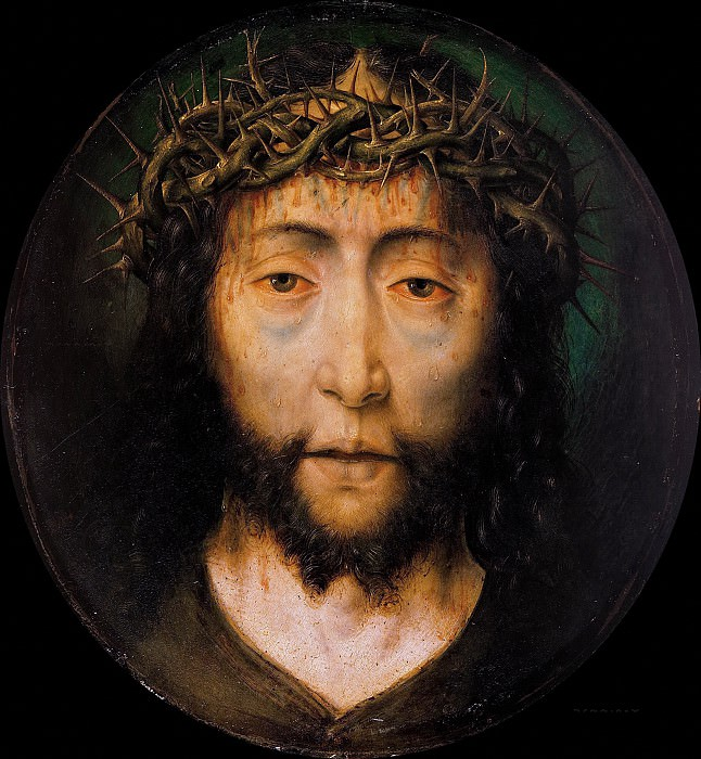 Aelbrecht Bouts (c.1455-1549) - Christ crowned with thorns. Part 1