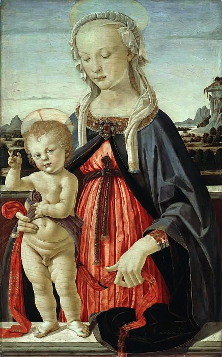 Andrea del Verrocchio (1436-1488) - The Virgin and Child. Part 1