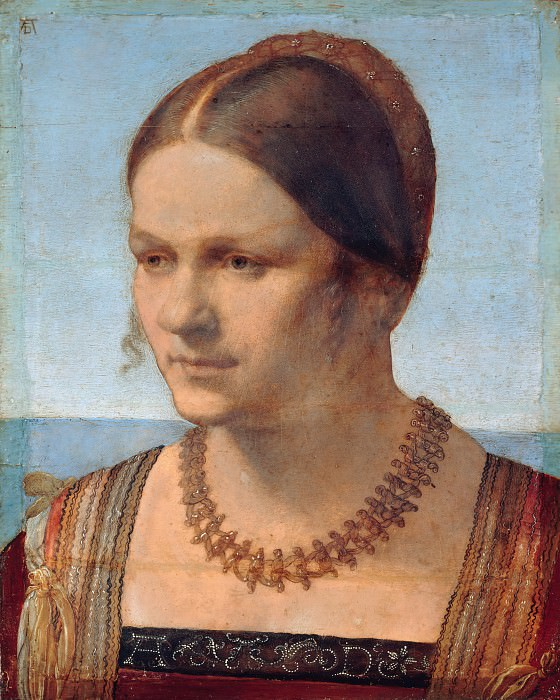 Portrait of a Young Venetian Woman. Albrecht Dürer