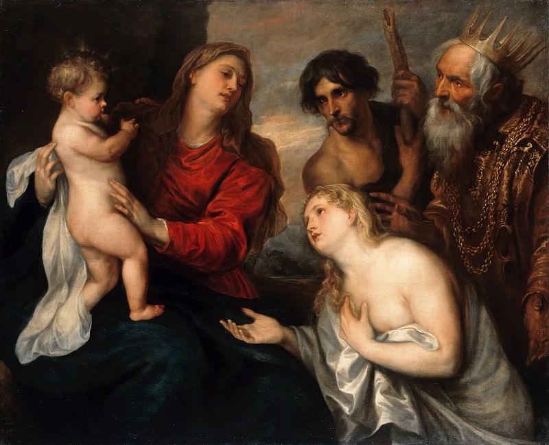 Anton van Dyck (Werkstatt) - The repentant sinner. Part 1