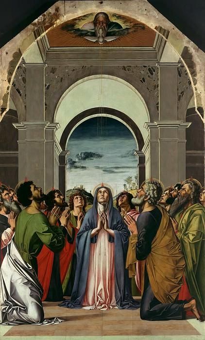 Виварини, Альвизе (1446-1502) - Сошествие Святого Духа на апостолов. Часть 1