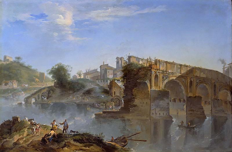 Локателли, Андреа (1695-1741) - Понте Ротто, Рим. Часть 1