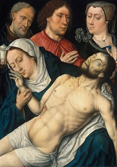 Aelbrecht Bouts (Werkstatt) (c.1455-1549) - The Lamentation of Christ. Part 1