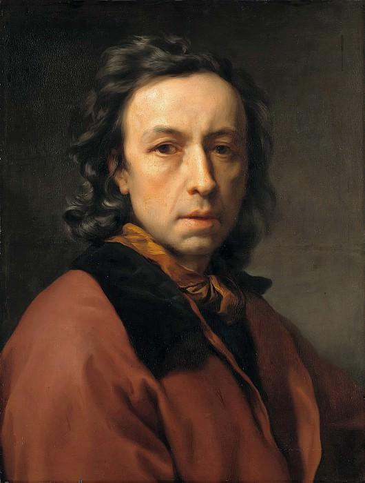 Anton Raphael Mengs (1728-1779) - Self-Portrait. Part 1