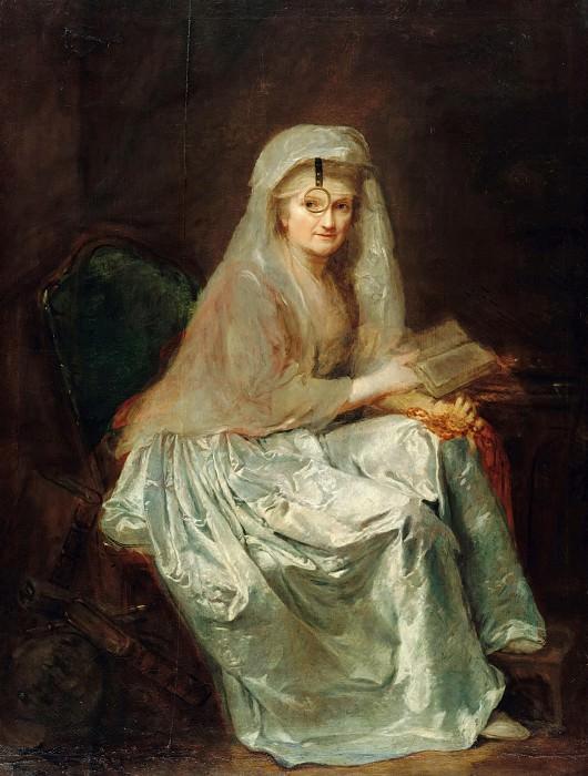 Anna Dorothea Therbusch (1721-1782) - Self-Portrait. Part 1