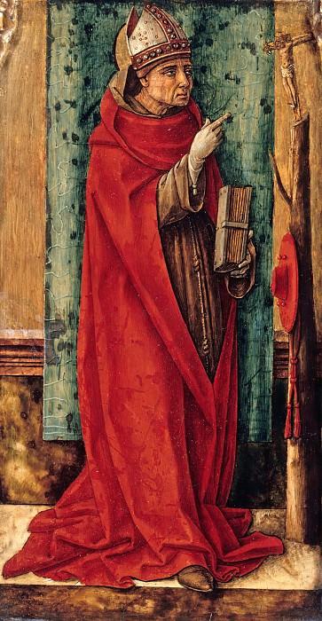 Кривелли, Карло (1430-35-1495) - Св Бонавентура. Часть 1