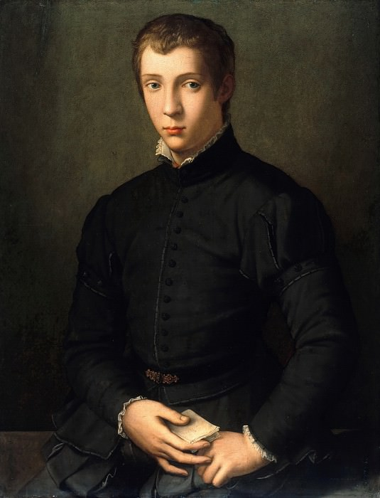 Alessandro Allori (1535-1607) - Portrait a young man. Part 1