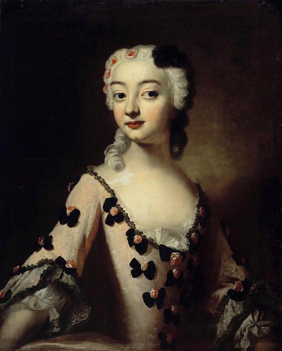 Аноним (18век) - Портрет молодой женщины. Часть 1