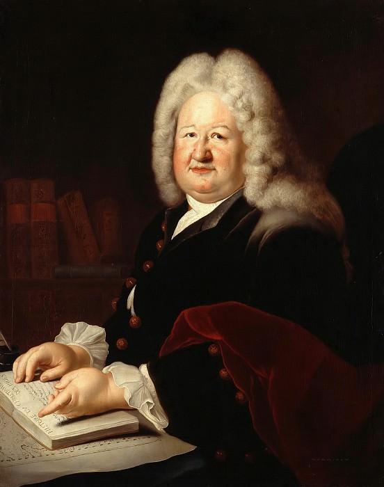 Antoine Pesne (1683-1757) - The Orientalist De La Croze. Part 1