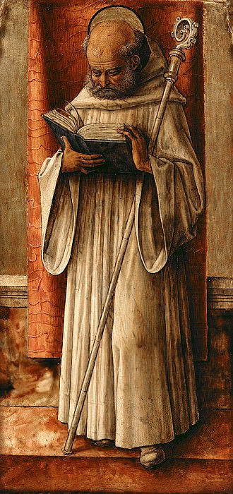 Carlo Crivelli (1430-35-1495) - St. Benedict. Part 1